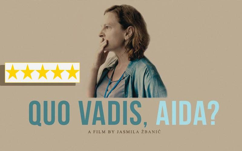Quo Vadis, Aida? Review: Jasna Đuričić Starrer Is An Anti-War Masterpiece Not  For The Weak-Hearted