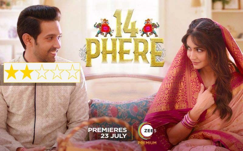 14 Phere Review: Vikrant Massey Makes This Rather Weak Comedy Just About Watchable, IF You Are Thoroughly Bored!