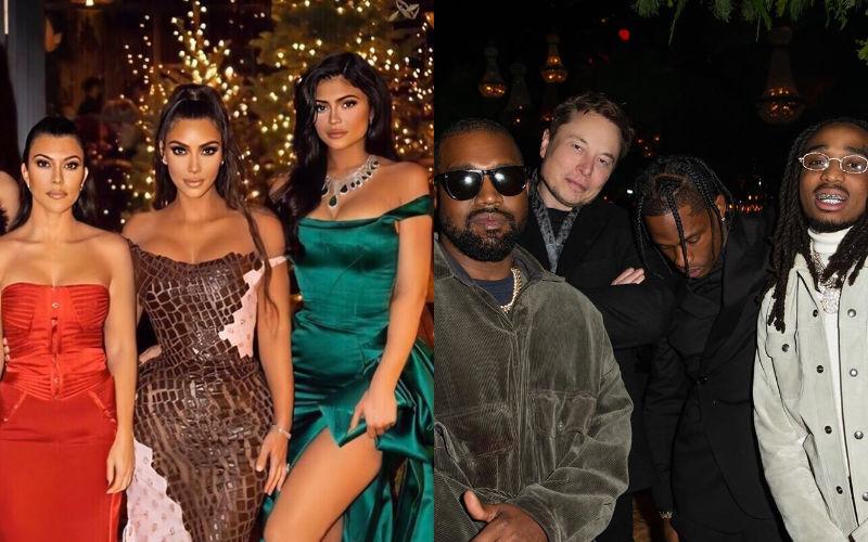 Kylie Jenner's Ex Travis Scott Was Part Of Kourtney Kardashian's Christmas Bash, PICS Say He Had Fun With K-Clan