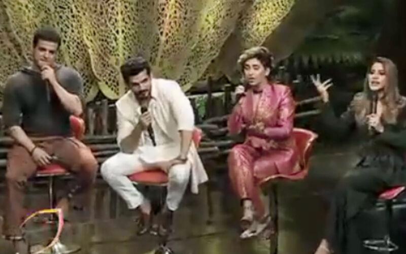 Bigg Boss 15 Weekend Ka Vaar PROMO: Nikki Tamboli Gets Into A Heated Argument With Karan Patel And Arjun Bijlani While Defending Pratik Sehajpal