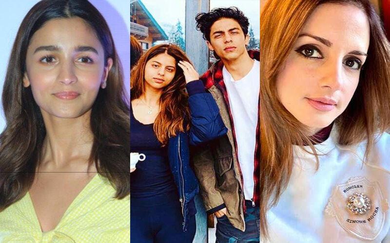 Alia Bhatt, Sussanne Khan And Suhana Khan Hail Hrithik Roshan's Heartfelt Open Letter For Shah Rukh Khan's Son Aryan Khan