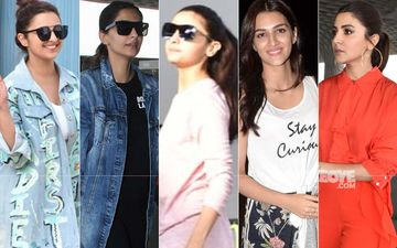 Parineeti Chopra, Sonam Kapoor, Alia Bhatt, Kriti Sanon, Anushka Sharma Make A Fashion Splash At Airport