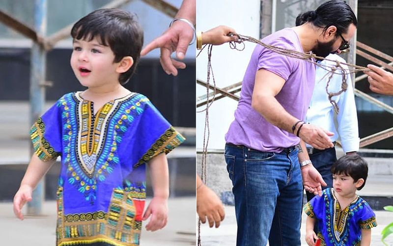 Taimur Ali Khan Steps Out In A Dashiki And The Internet Loses Calm!