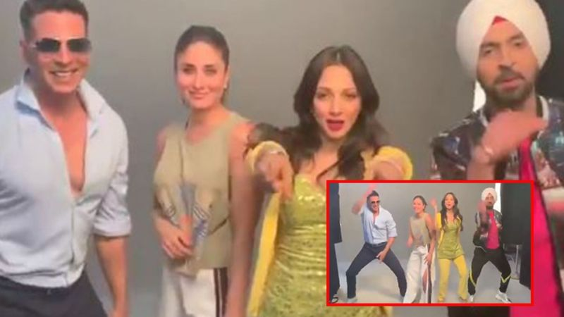 Housefull 4 Meets Good Newwz 'Bala Challenge': Akshay Kumar And Diljit Dosanjh Lift Kareena Kapoor And Kiara Advani, 'Chak Lo Apni Kudiyan Nu'