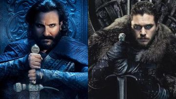 SAME-TO-SAME: Saif Ali Khan's First Look Poster From Tanhaji Is A Complete Rip-Off Of Jon Snow From GoT; We Have Proof