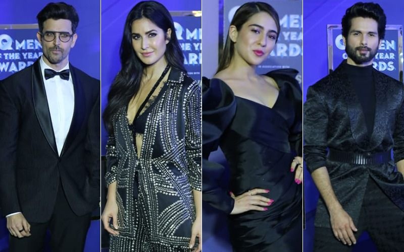 GQ Men Of The Year Awards 2019: Shahid Kapoor, Katrina Kaif, Hrithik Roshan, Sara Ali Khan; Stars Who Set The Red Carpet On Fire