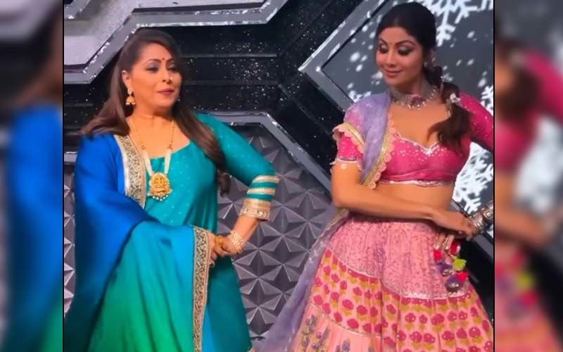 Super Dancer Chapter 4: Shilpa Shetty Gracefully Recreates The Viral Song 'Manike Mage Hithe' With Geeta Kapur And It's Unmissable -WATCH