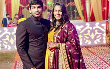 Wrestling Champion Geeta Phogat And Husband Pawan Kumar Blessed With A Baby Boy; First Pic Out