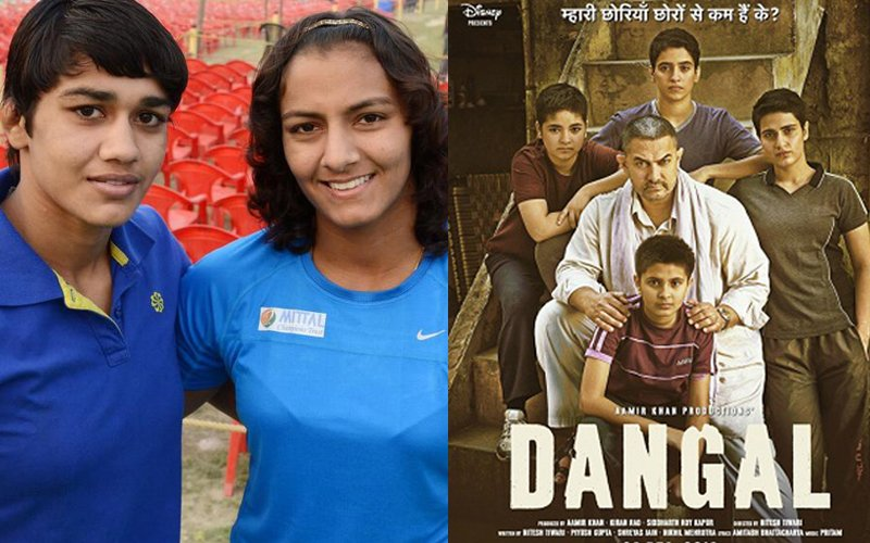 Phogat Sisters Geeta And  Babita Praise Aamir Khan's Dangal