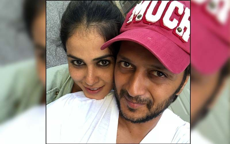 Riteish Deshmukh Ties Genelia Deshmukh's Hair In A Ponytail And It's Too Cute To Handle; WATCH