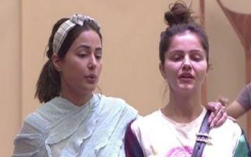 Bigg Boss 14: Contestant Rubina Dilaik's Mother Shakuntala Dilaik Tweets Thanking Mentor Hina Khan For Motivating Her Daughter