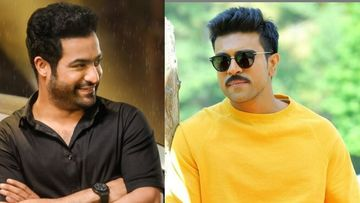 RRR: Ramaraju For Bheem Teaser To Be Out Tomorrow; Ram Charan And Jr NTR Indulge In A Funny Banter As They Make The Announcement