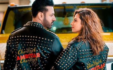 Chandigarh-Amritsar-Chandigarh: Gippy Grewal, Sargun Mehta is on a Promotional Spree