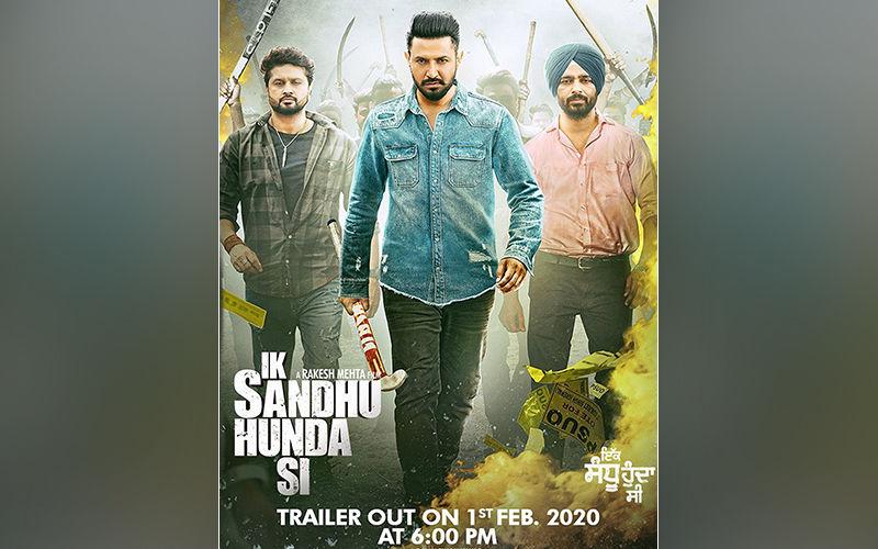 Gippy Grewal  and Neha Sharma Starrer 'Ik Sandhu Hunda Si' Trailer Out Tomorrow!