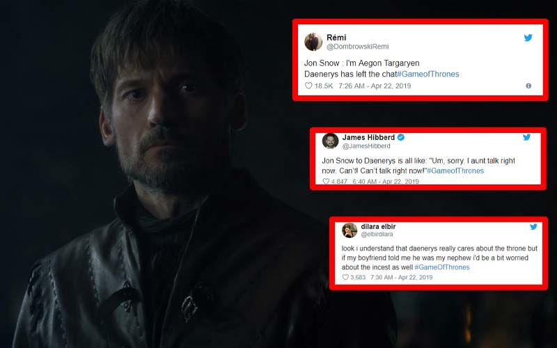 Game Of Thrones Season 8, Episode 2 Best Memes: Internet Mocks Daenerys Targaryen-Jon Snow, Jammie Lannister And More