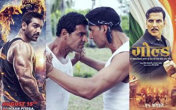 गोल्ड और सत्यमेव जयते Box Office Collection Day 2: अक्षय कुमार को कड़ी टक्कर दे रहे हैं जॉन अब्राहम
