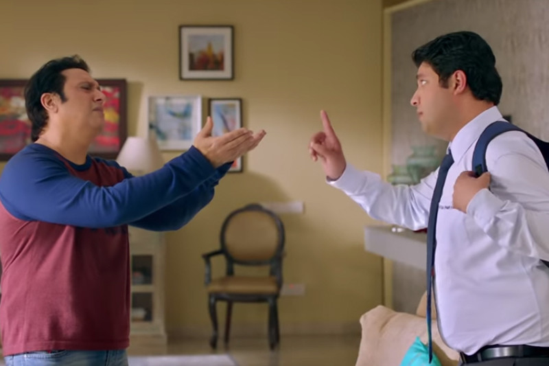 Govinda And Varun Sharma In Fryday