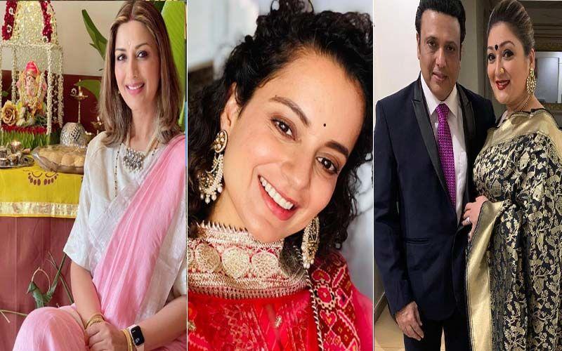 Entertainment News Round Up: Celebs Welcome Ganpati Bappa Home, Kangana Ranaut Starrer Thalaivii Sequel On Cards; Govinda's Wife Sunita Anuja Lashes Out At Krushna Abhishek