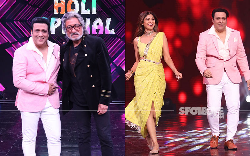 Super Dancer Chapter 3 Holi Special Episode: Govinda And Shakti Kapoor Shake A Leg With Shilpa Shetty Kundra