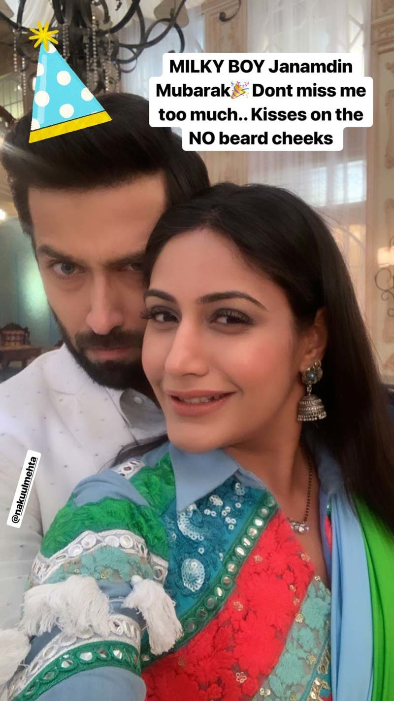 Nakul Mehta And Surbhi c