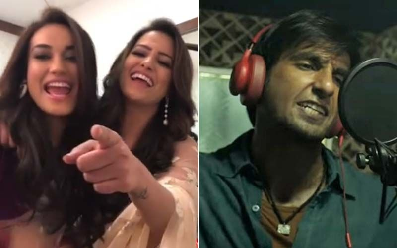 Naagins Turn Gully Girls! Surbhi Jyoti And Anita Hassanandani Rap Like A Pro- Ranveer Singh, Are You Watching?