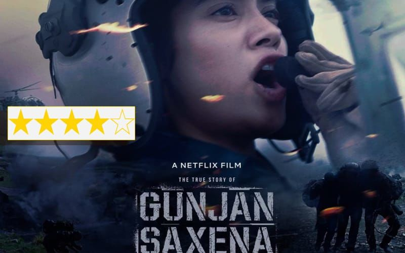 Gunjan Saxena The Kargil Girl Review Netflix Scores A Big Winner With The Janhvi Kapoor Starrer A Simply Told Story With Zero Frills