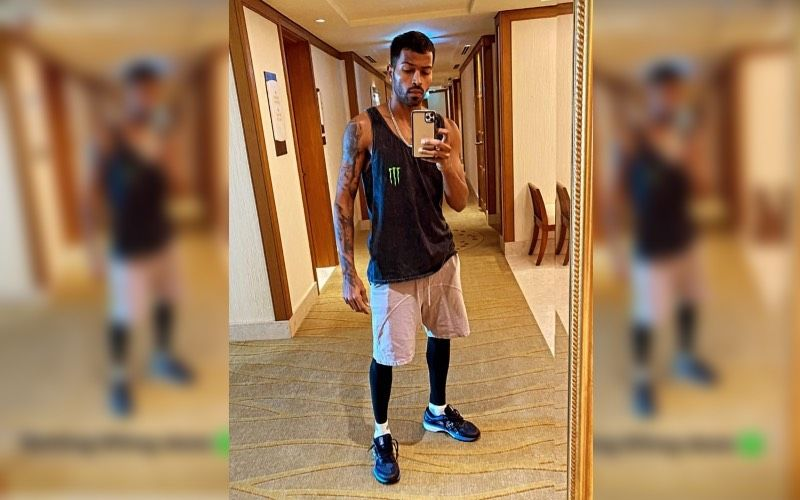Ahead Of IPL 2020 Mumbai Indians Player Hardik Pandya Shows His Fans How He Is Pumping Up For The League – See Pics