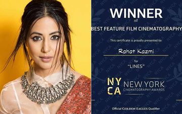 Hina Khan's Debut Film Lines Bags 'Best Feature Film' Trophy At New York Cinematography Awards; Actress Can't Keep Calm