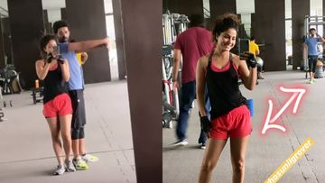 Hina Khan And Sunil Grover Are The Latest Workout Buddies; Their Gym Banter Is Simply Hilarious – VIDEO INSIDE
