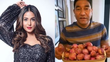 Hina Khan's Father Has The Most Hilarious Reaction To The Hike In Onion Prices- WATCH VIDEO