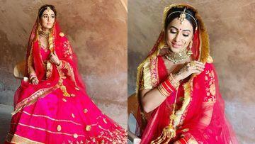 Raanjhana: Hina Khan Turns Into An Ethereal Bride For This Romantic Number Alongside Priyank Sharma – PICS