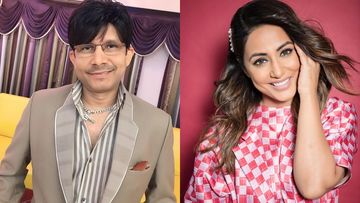 KRK Passes A Distasteful Comment On Hina Khan, Actress Gives A Befitting Reply; BF Rocky And Karanvir Bohra React