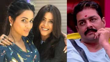 Hina Khan Takes A Stand For Ekta Kapoor Amid Her XXX Uncensored Controversy Against Hindustani Bhau; Says Rape Threats Are NOT Justified
