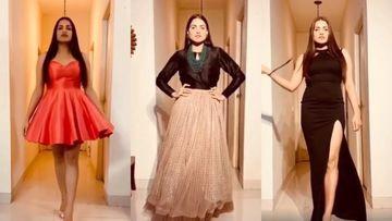 Himanshi Khurana Turns Her Home Into Runway For A 'Quarantine Fashion Show'; A Fan Jokes, 'Aatmanirbhar Fashion Show' – VIDEO