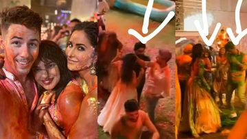 Isha Ambani Holi Party INSIDE PICS AND VIDEOS: Rumoured Couple Katrina-Vicky Groove Together; Nick-Priyanka Splash Colours