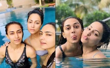 Going Wild: Hina Khan, Erica Fernandes And Pooja Banerjee POOL It Out Underwater!