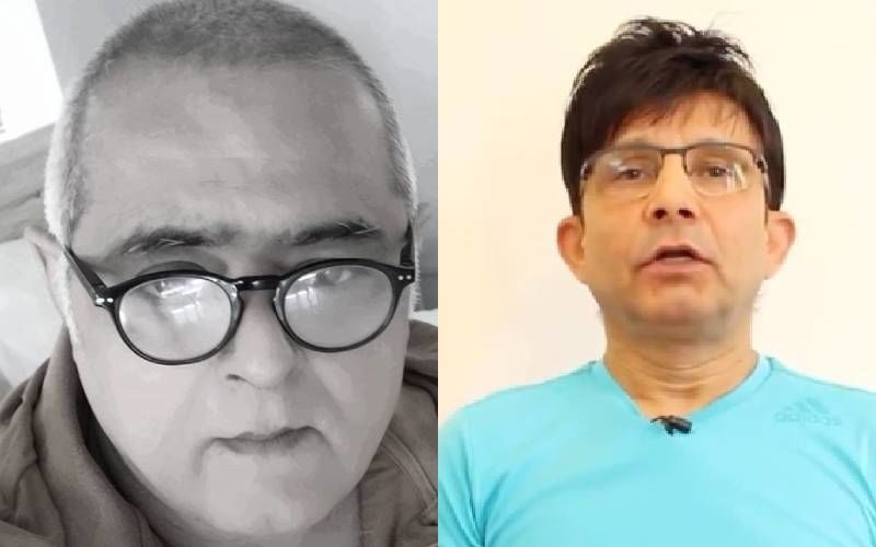 Kamaal R Khan Lashes Out At Hansal Mehta While Sharing His Rags To Riches Story; Filmmaker Responds With An Advice, 'Disagree But Don't Disrespect'