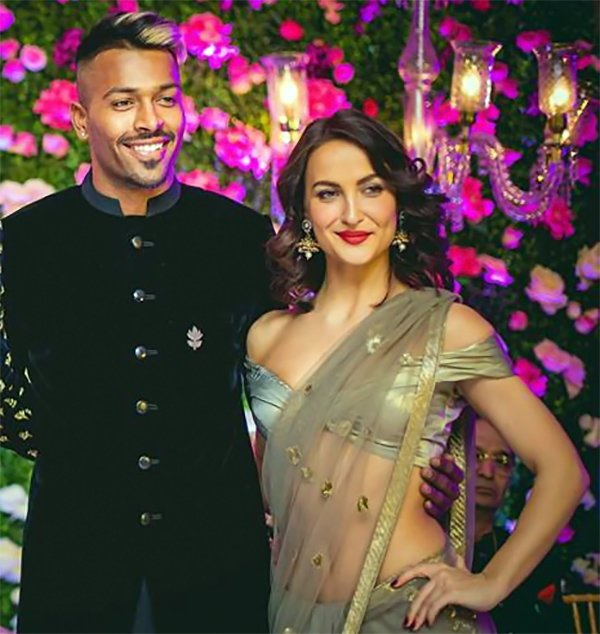 Hardik Pandya With Elli AvrRam