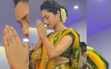 Ganesh Chaturthi 2020: Ankita Lokhande Says She's Waiting To Meet Her Bappa; Shares Throwback Pictures Dressed As Perfect Marathi Mulgi