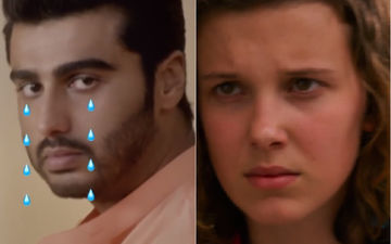 When Arjun Kapoor Cried And Cried As Eleven From Stranger Things 'Dumped His A*ss' Because He Didn't Know 'Rasode Mein Kaun Tha'; It's Hilarious AF - WATCH