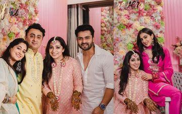 Sara Ali Khan, Dipika Kakar And Shoaib Ibrahim Attend JP Dutta's Daughter Nidhi's Mehendi Ceremony Ahead Of Engagement