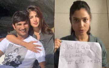 Ankita Lokhande Blasts Rhea Chakraborty; Says Sushant Never Met A Psychiatrist In 2013 When They Were Together