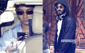 Sonam Kapoor's Mehendi: Rhea & Harshvardhan Leave Juhu Residence For The Party