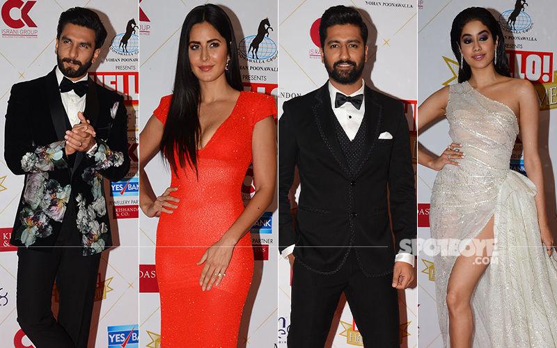 Hello! Hall Of Fame Awards 2019: Ranveer Singh, Katrina Kaif, Vicky Kaushal, Janhvi Kapoor Bag Trophies
