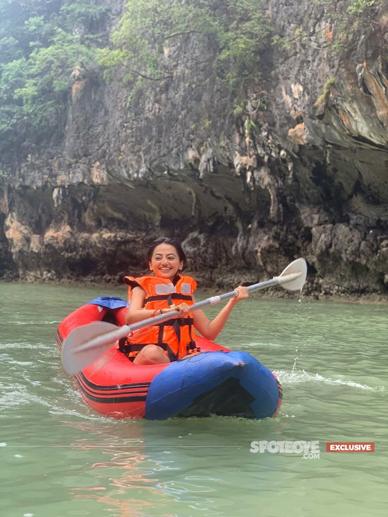 Helly Shah Kayaking