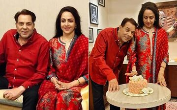 Inside Hema Malini's Intimate Birthday Celebration With Dharmendra, daughter Esha Deol And Sholay Director Ramesh Sippy-See PHOTOS