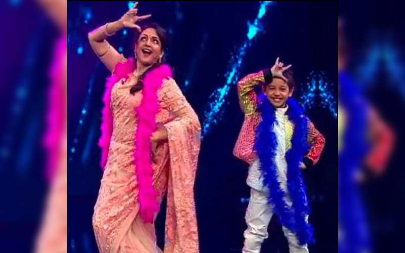 Super Dancer Chapter 4: 'Dream Girl' Hema Malini Mesmerises Everyone As She Matches Contestant Florina Gogoi's Energy And Grooves With Her-WATCH