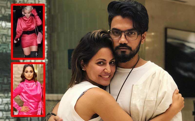 Hina Khan And Boyfriend Rocky Jaiswal Give It Back To Diet Sabya's #GandiCopy Post