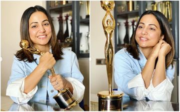 Hina Khan Crowned Television Star Of The Decade; Vikaas Kalantri-Amruta Khanvilkar Say 'You Deseve All The Accolades'