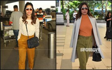 Hina Khan's Departure Vs Arrival Travel Outfit: Which One Is Your Pick?